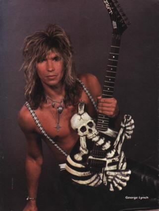 George Lynch - Mr Scary of the Axe