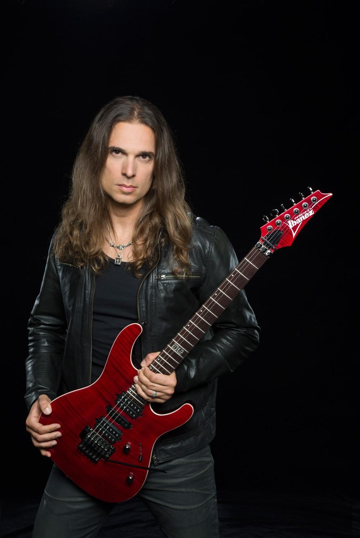 Megadeth's Kiko Loureiro Shredding Across the Globe