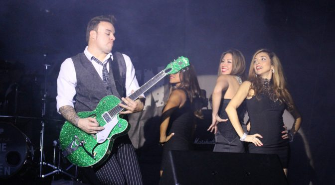 Anthony Bambino:  From Shredder To A Brian Setzer Tribute Band