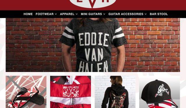 Eddie Van Halen Launches New Online Store; Apparel, Guitar Accessories and More