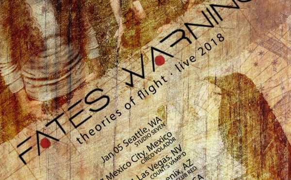 Fates Warning Announce Additional 2018 Tour Dates in USA & Mexico
