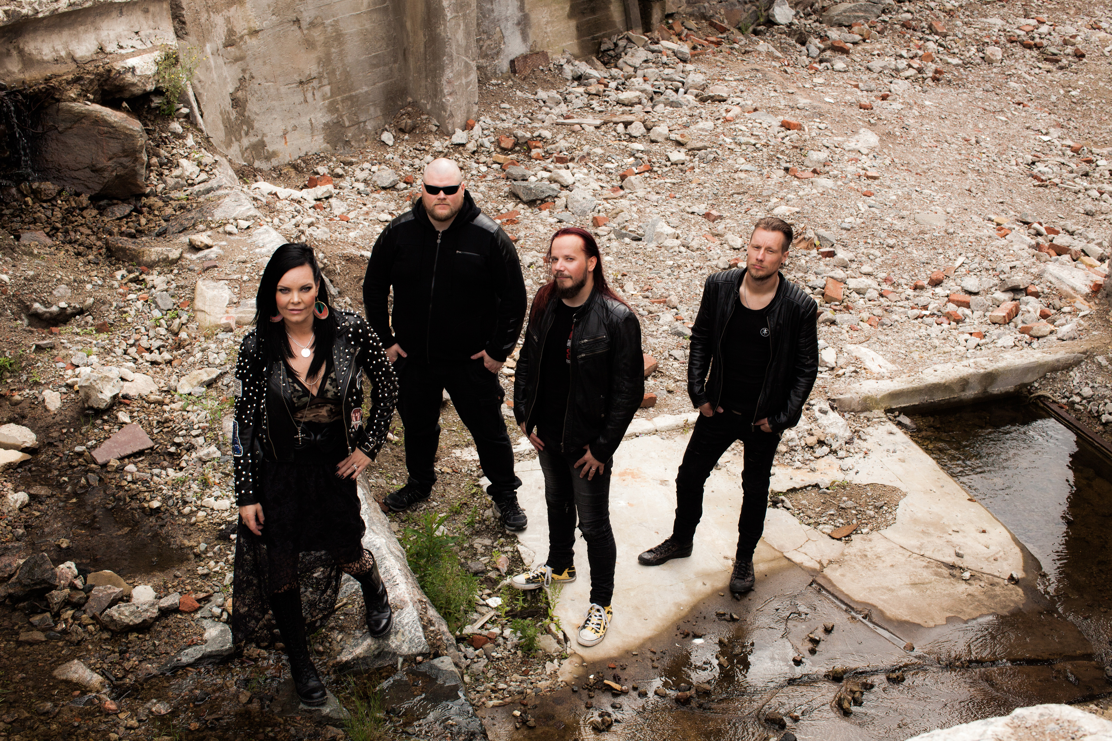 Anette Olzon Discusses Her New Project The Dark Element