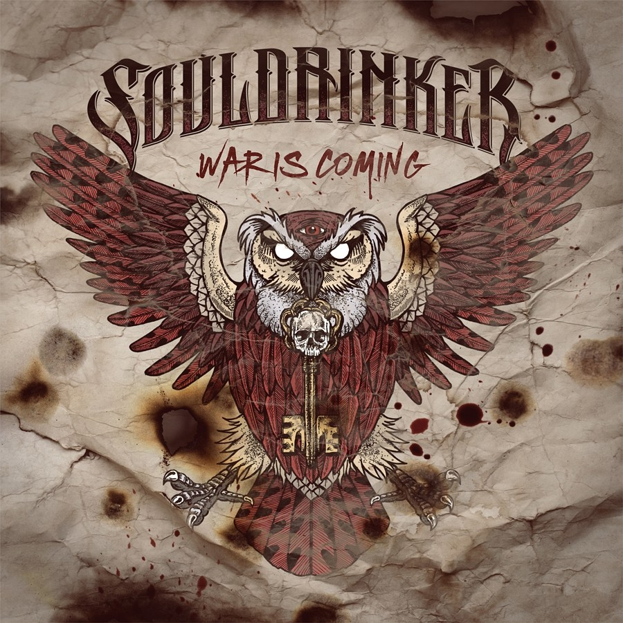 "Souldrinker Releases First Full Length Album ""War Is Coming"""