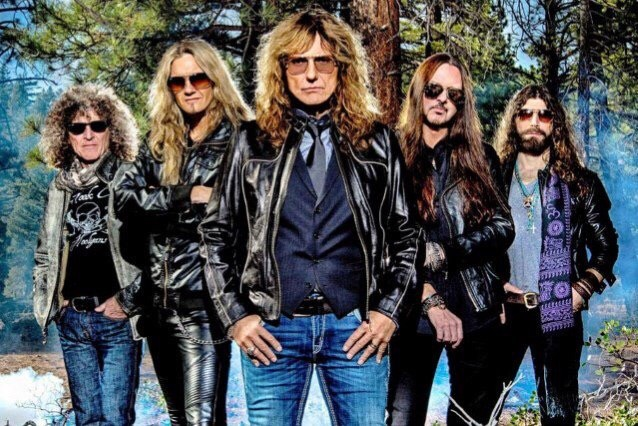 "Whitesnake To Release New Album ""Flesh & Blood"" In 2018"