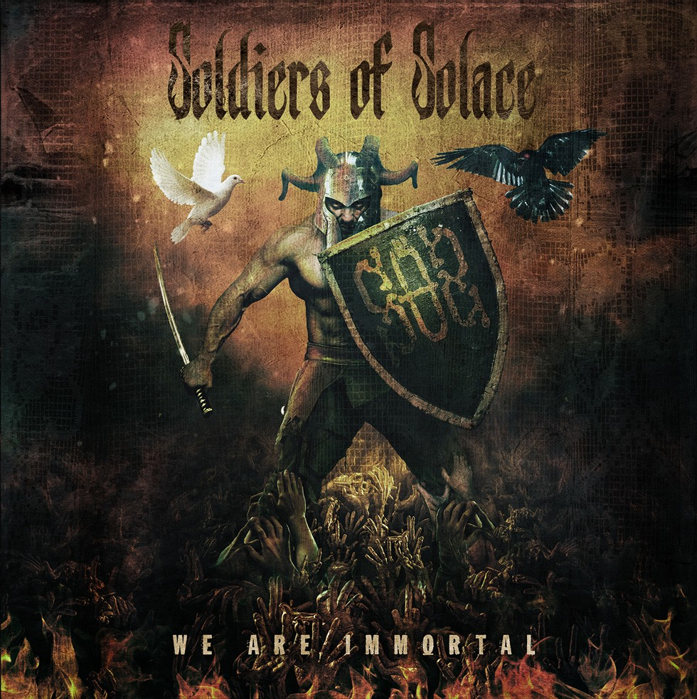 "Soldiers Of Solace To Release Debut Album ""We Are Immortal"" On January 26, 2018"