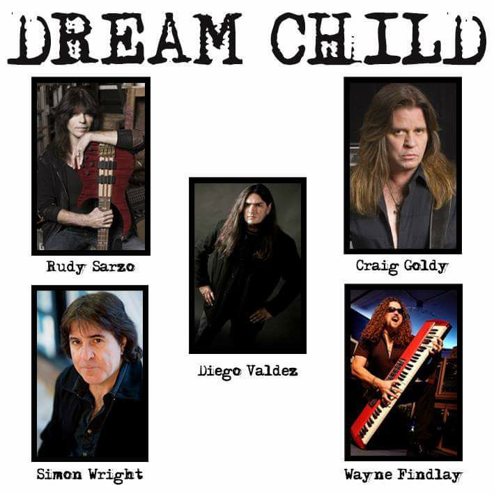 Frontiers Records Announces Dream Child Featuring Craig Goldy and Rudy Sarzo