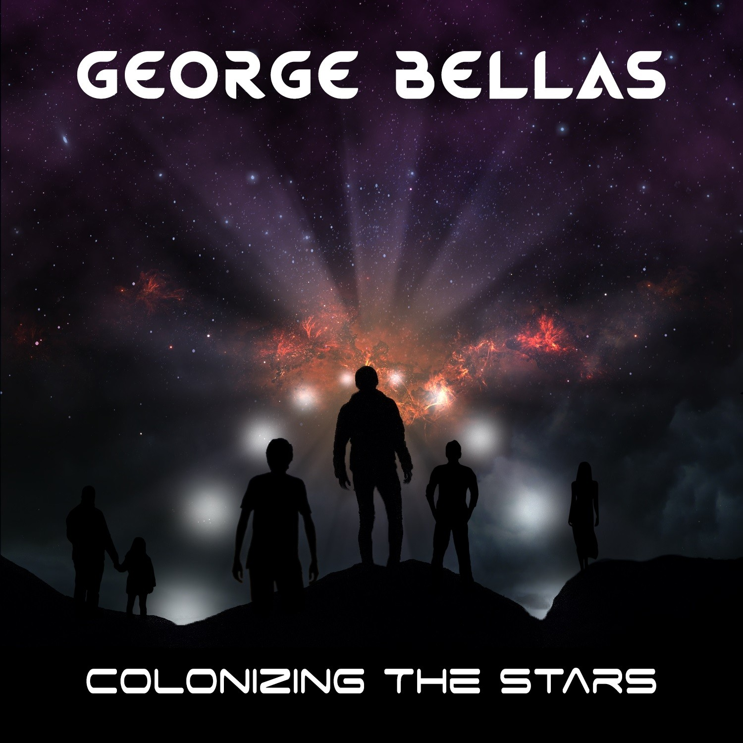 "Guitar Virtuoso George Bellas To Release Upcoming Album ""Colonizing The Stars"""
