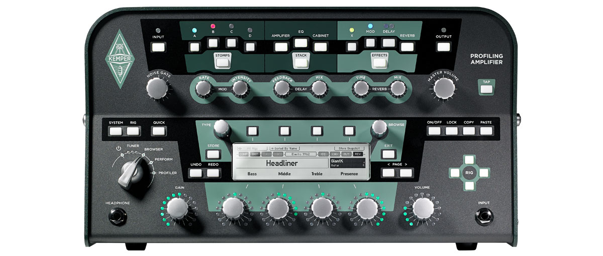 The Kemper Profiler Is Changing The Way Of Amplification