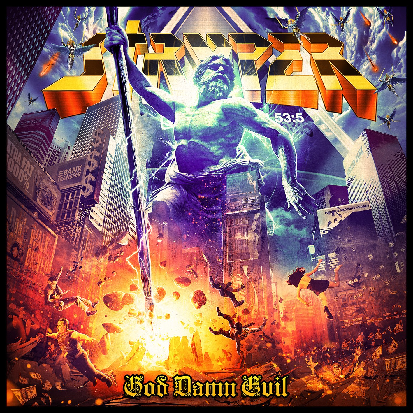 "Review:  Stryper's ""God Damn Evil"" By All That Shreds Magazine"