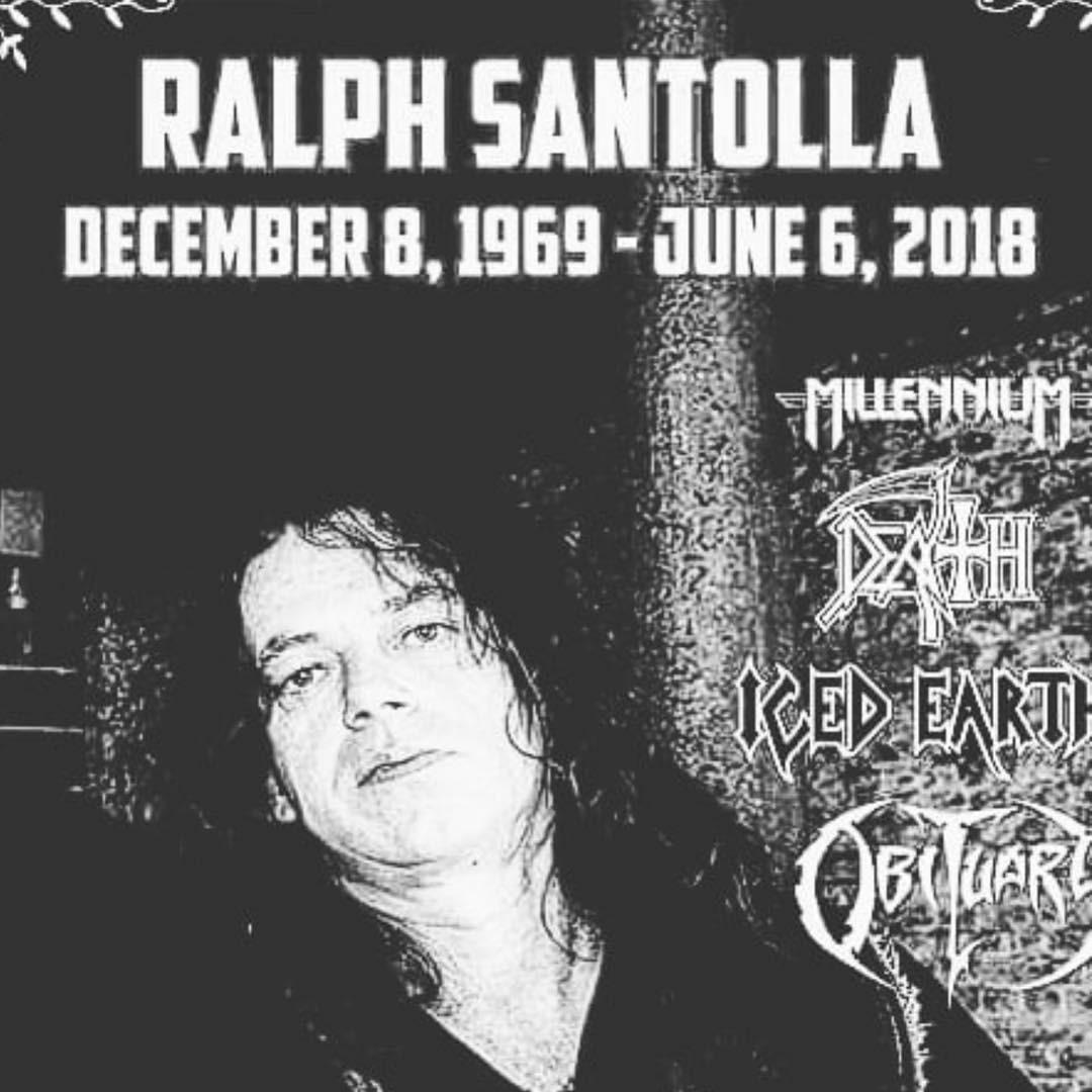 Guitarist Ralph Santolla Passes Away At 48