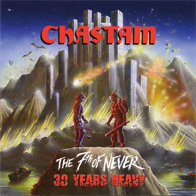 Chastain To Reissue The 7th Of Never On Vinyl Via Pure Steel Records