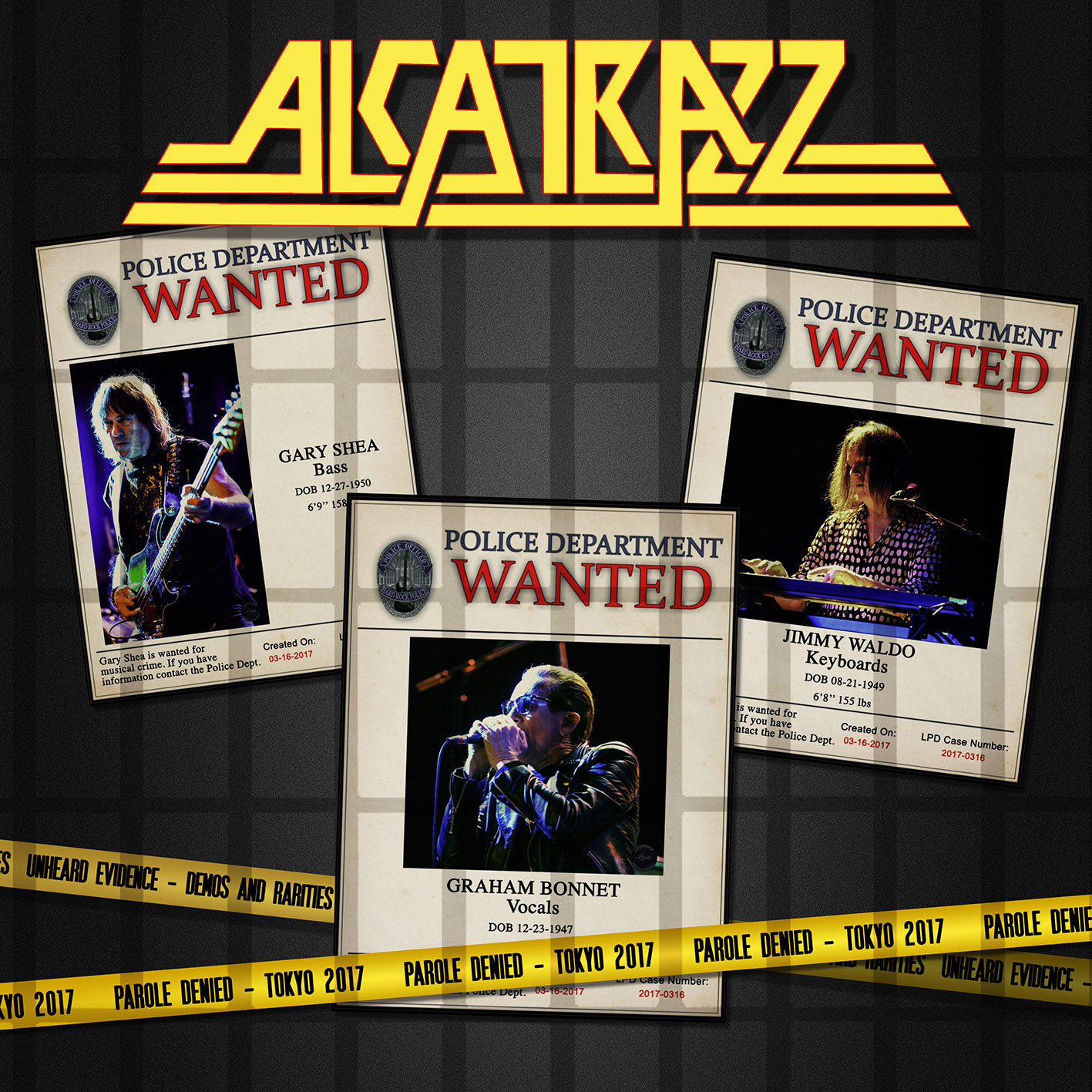 "Alcatrazz To Release Live CD/DVD ""Parole Denied"" Tokyo 2017"