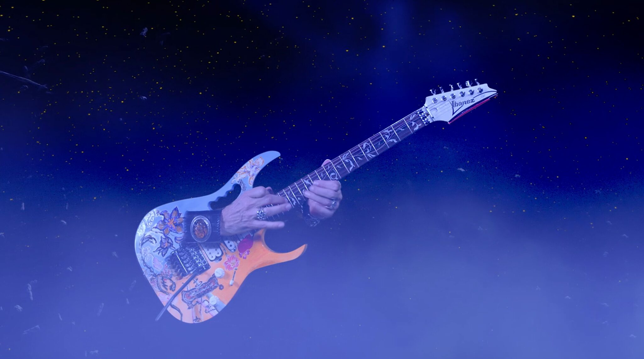 "Steve Vai Unveils VFX-Heavy Music Video For ""Dark Matter"" From Modern Primitive"
