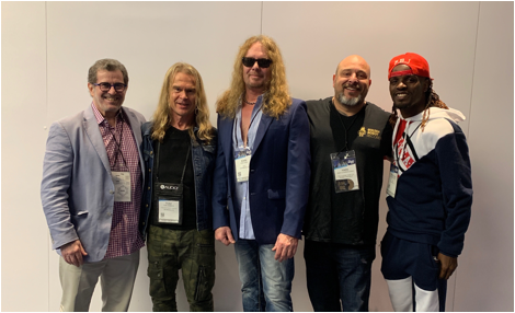 John Sykes Signs Global Deal With Golden Robot Records