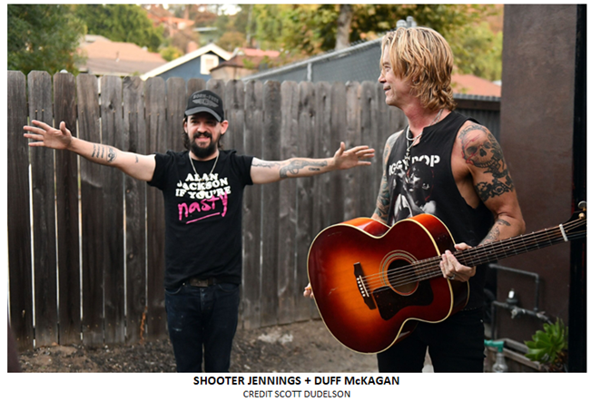 """Duff McKagan Releases Shooter Jennings Produced """"Tenderness"""""""