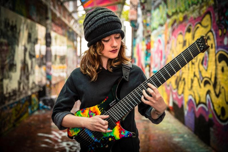 Guitar Virtuoso Sarah Longfield's Disparity Out Now Via Seasons Of Mist