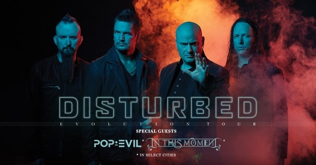 "Disturbed Announces Second Leg Of ""Evolution"" US Tour"