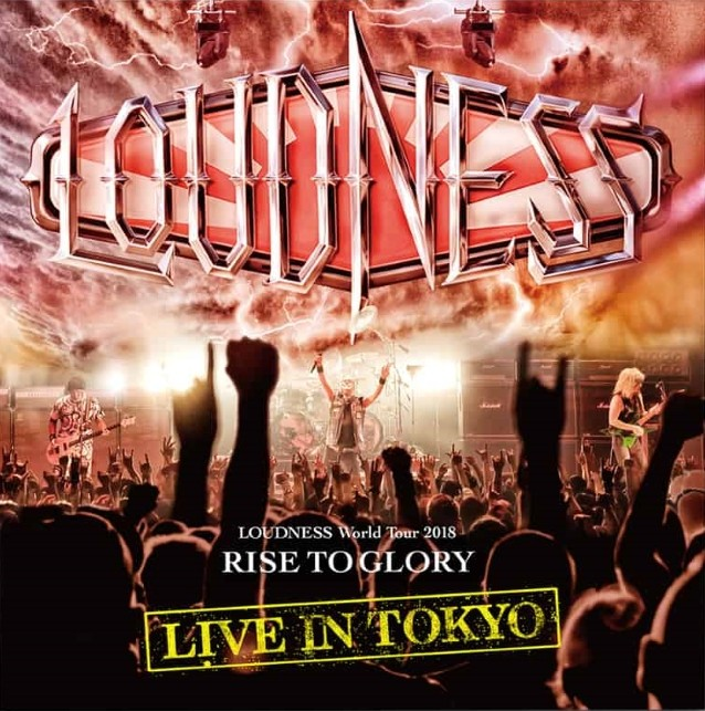 Loudness To Release 'Live In Tokyo' 2CD+DVD In May