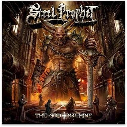 """Power Metal Legends Steel Prophet Releases """"The God Machine"""""""