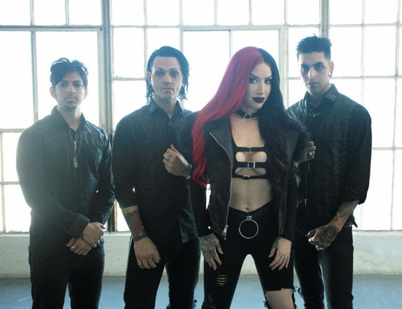 "New Years Day Release New Song ""Come For Me"""