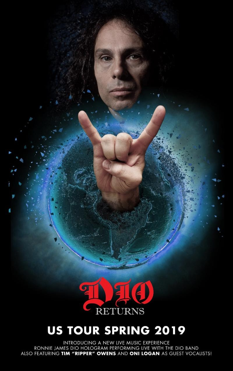 Dio Returns Featuring Dio Hologram Announce US Tour Dates