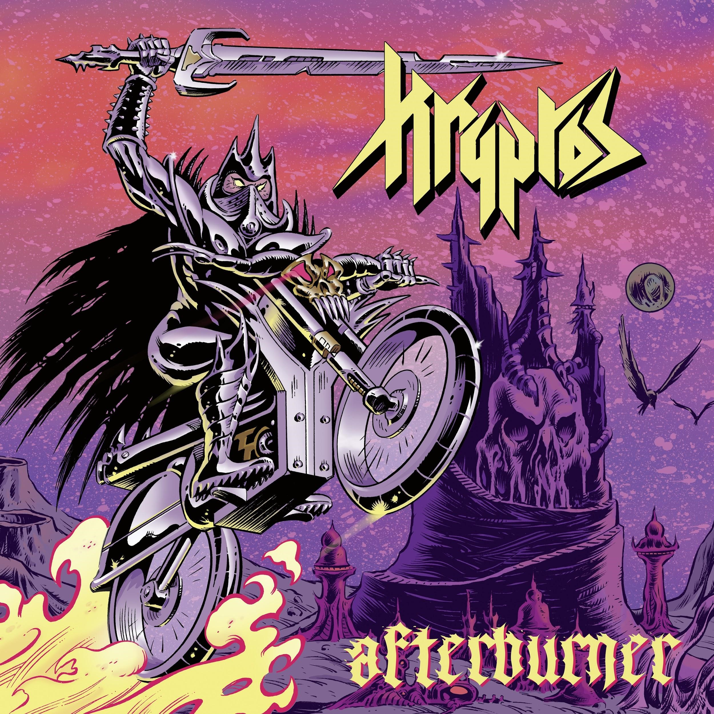 Album Review:  Kryptos - Afterburner