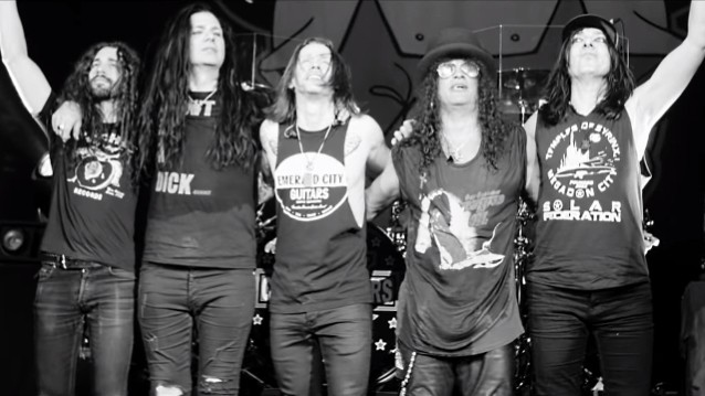 Slash Featuring Myles Kennedy And The Conspirators Release New Video For 'Boulevard Of Broken Hearts'