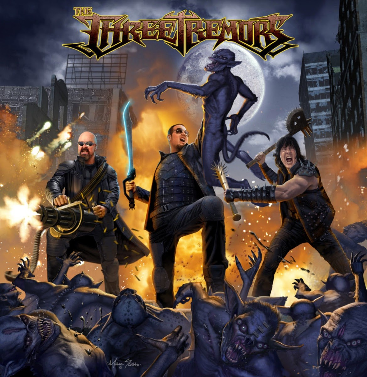 """Three Tremors Unleash """"Fly Or Die"""" Video, Headling Metalfest In Spain"""