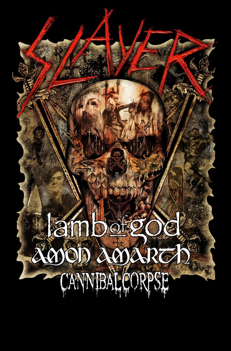 Cannibal Corpse To Begin North American Run With Slayer, Lamb Of God, And Amon Amarth