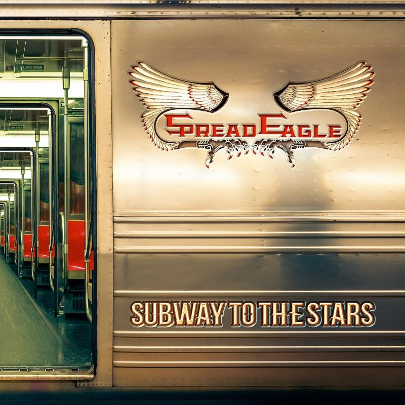 "Spread Eagle To Release ""Subway To The Stars"" August 9th Via Frontiers Music"