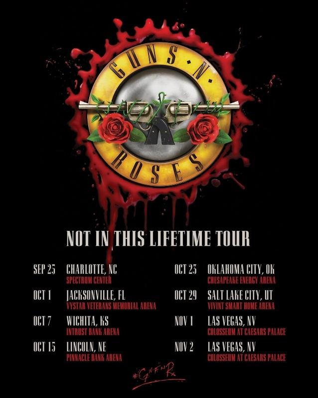 Guns N' Roses Announces Fall 2019 US Tour Dates
