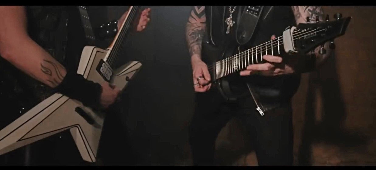 """Check Out Andy James New Video """"Waking The Dead"""" Featuring Gus G"""