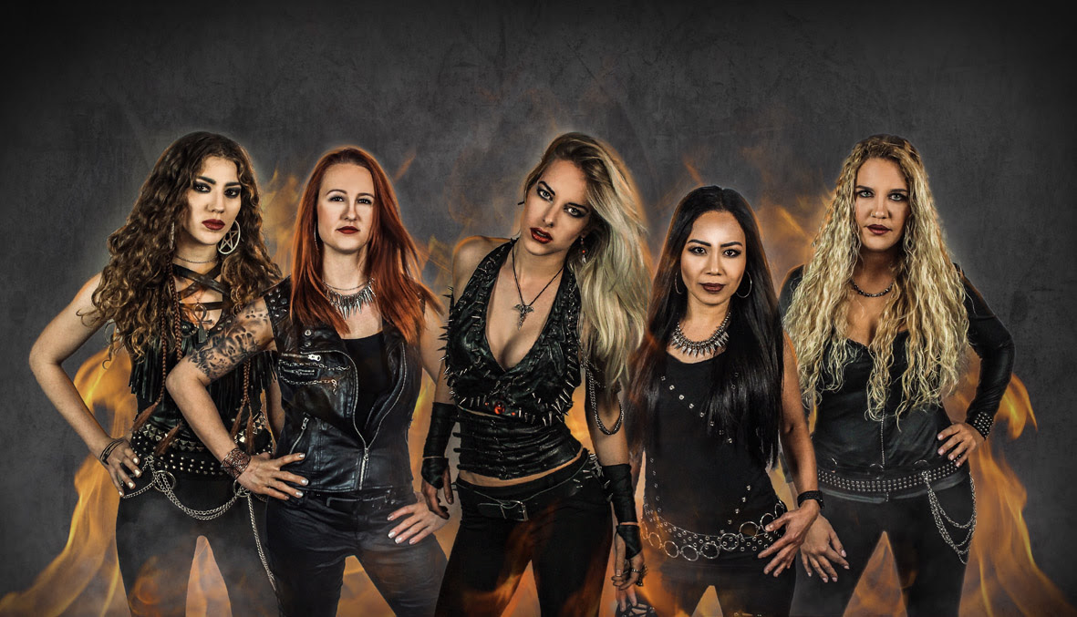 Burning Witches Release New Lyric Video Featuring New Singer Laura