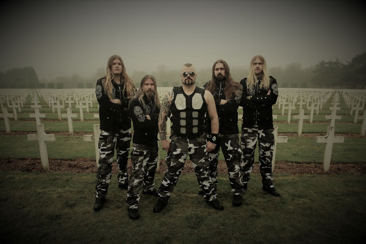 "Sabaton Releases Video For Third Single ""Great War"""