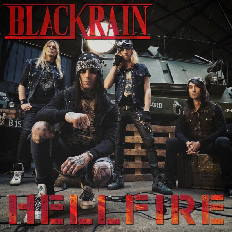Blackrain Releases New Single and Video!