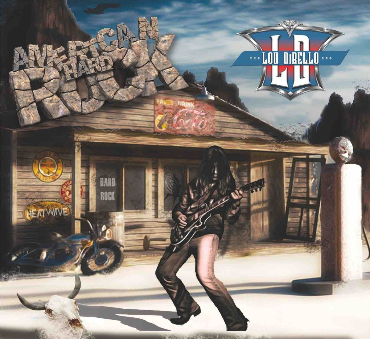 """Lou Dibello Continues To Shred With """"American Hard Rock"""""""