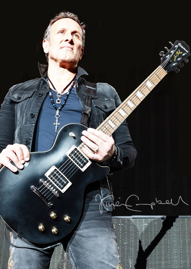 Epiphone: Worldwide Release Of Vivian Campbell 'Holy Diver' Les Paul Announced Today