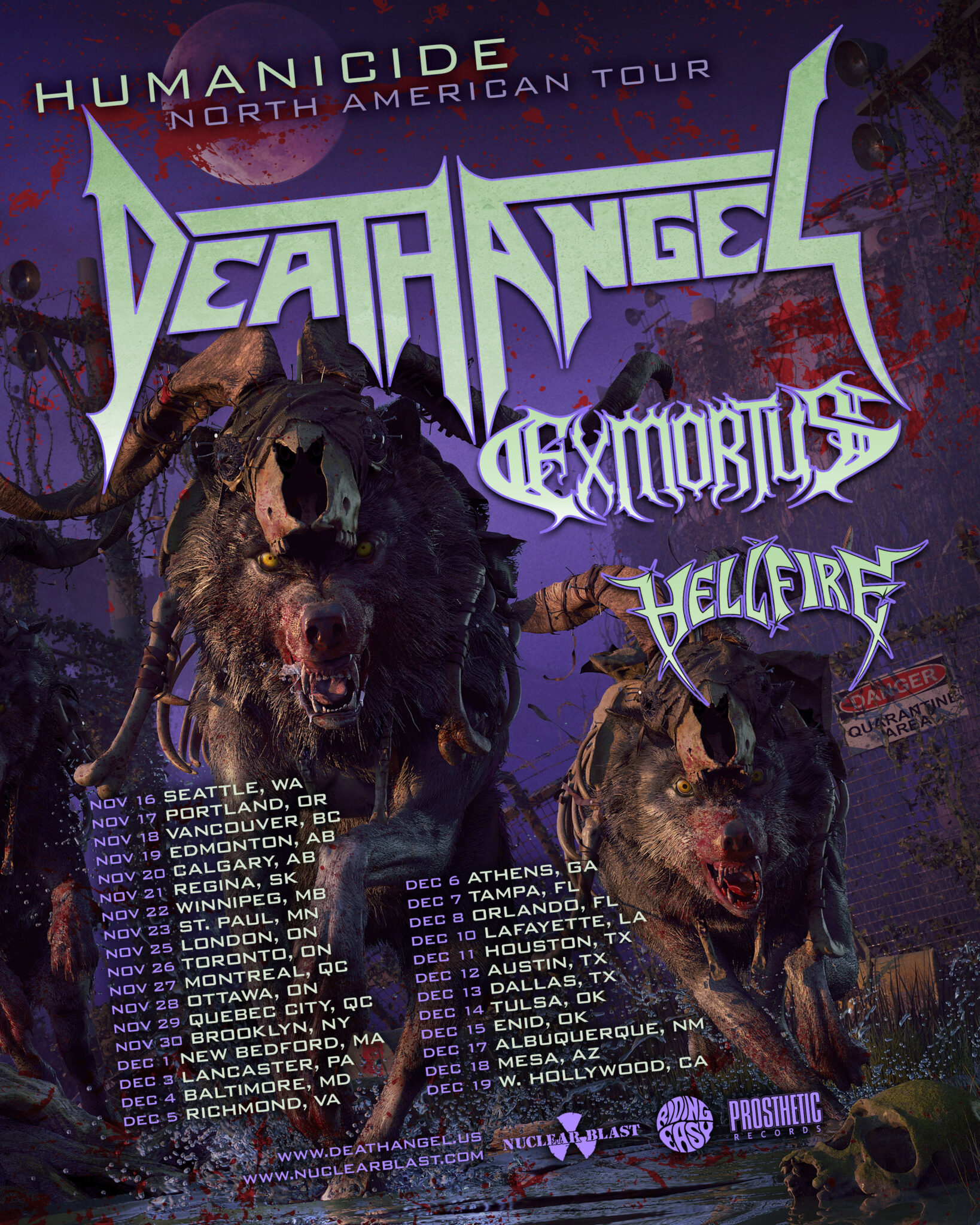 Death Angel Announces North American Headline Tour