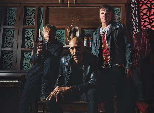 """KXM Featuring George Lynch Release Video For """"Time Flies"""""""