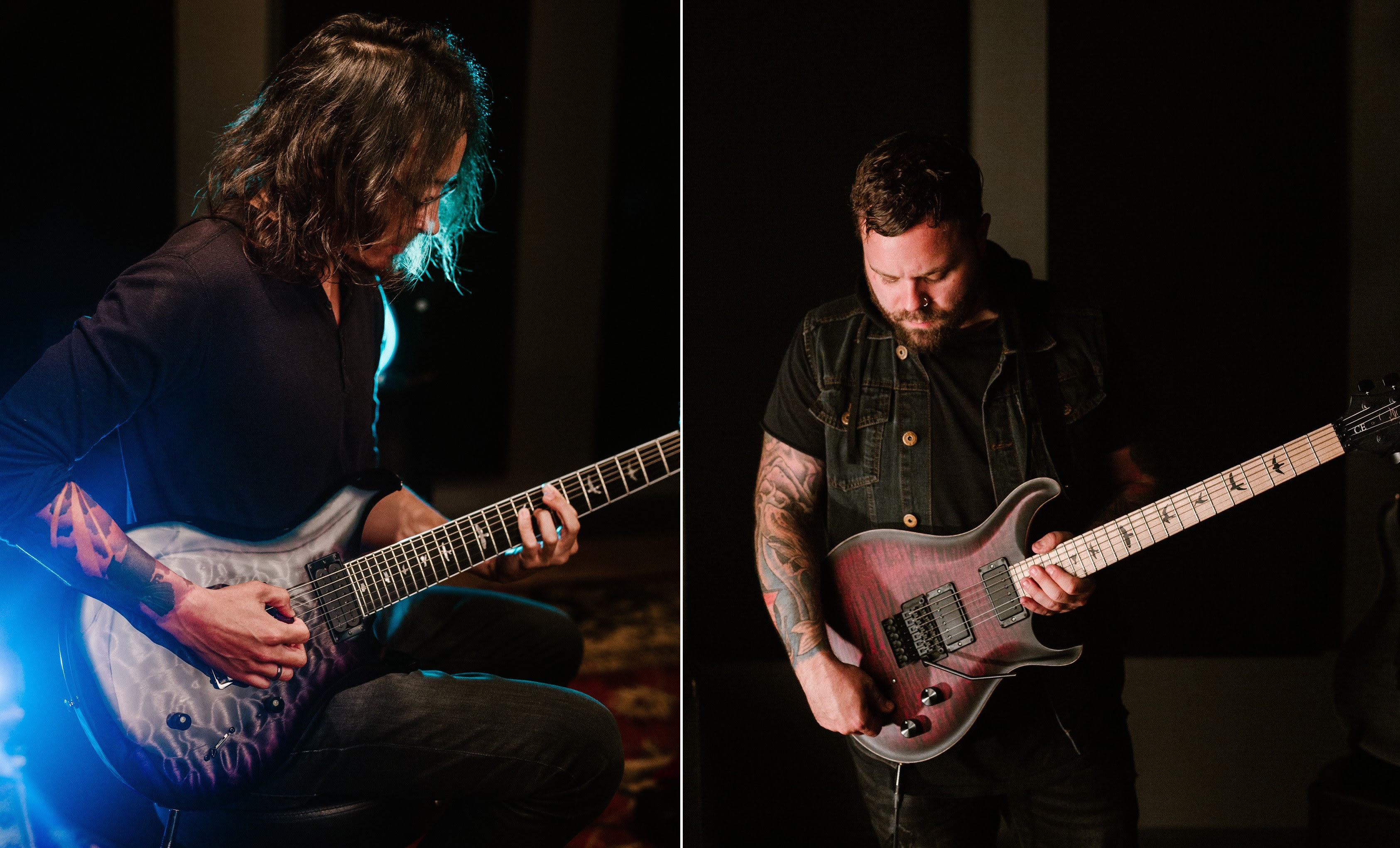 PRS Guitars Announces New Mark Holcomb And Dustie Waring Signature Models