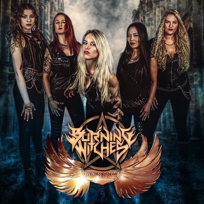 Burning Witches Unveil 'Wings Of Steel' Guitar Playthrough