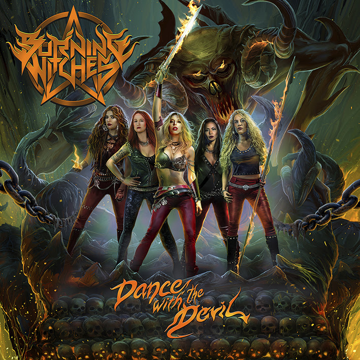 "Burning Witches Release New Single ""Sea Of Lies"""