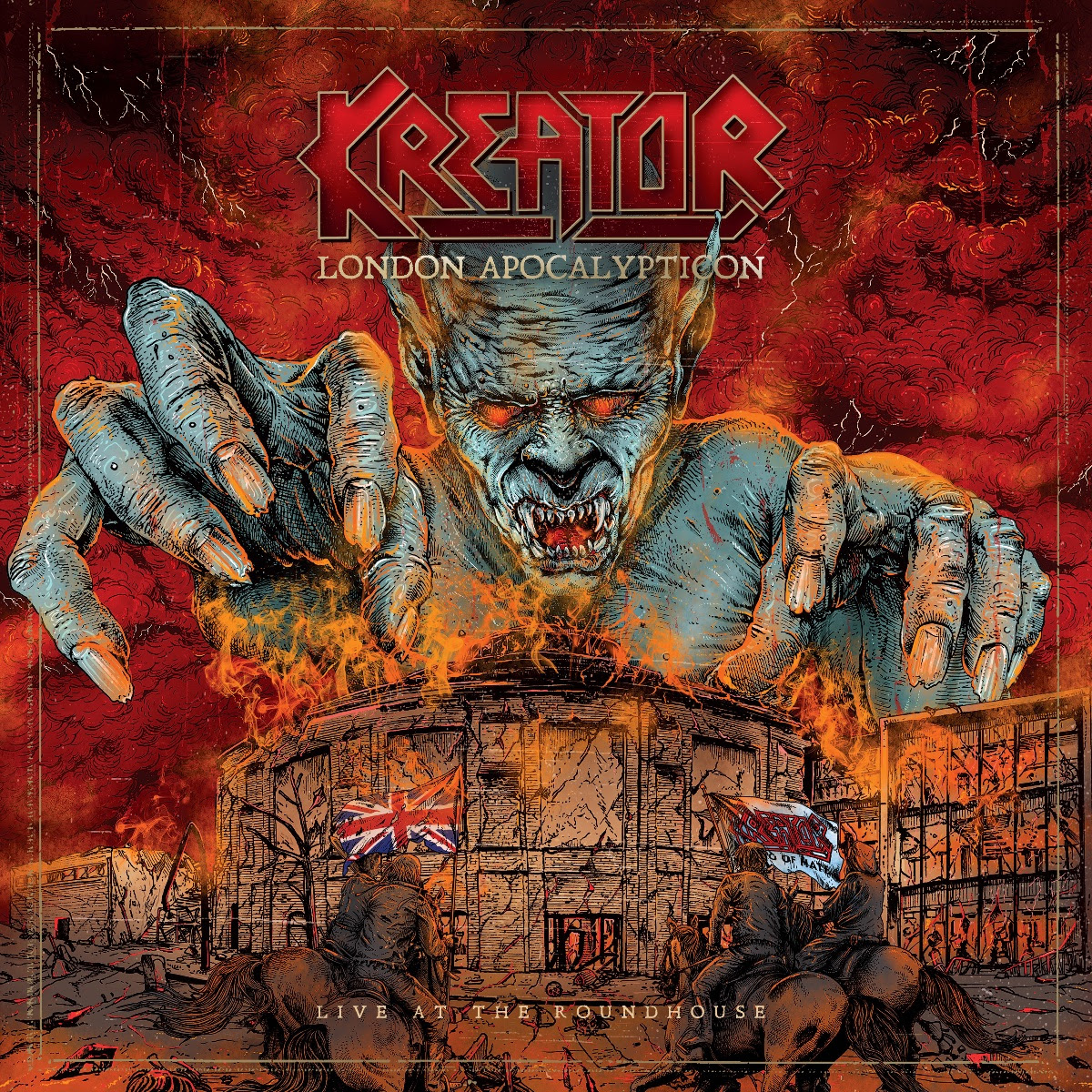 "Kreator Release Second Single And Video ""Violent Revolution"" From London Apocalypticon - Live At Roundhouse"