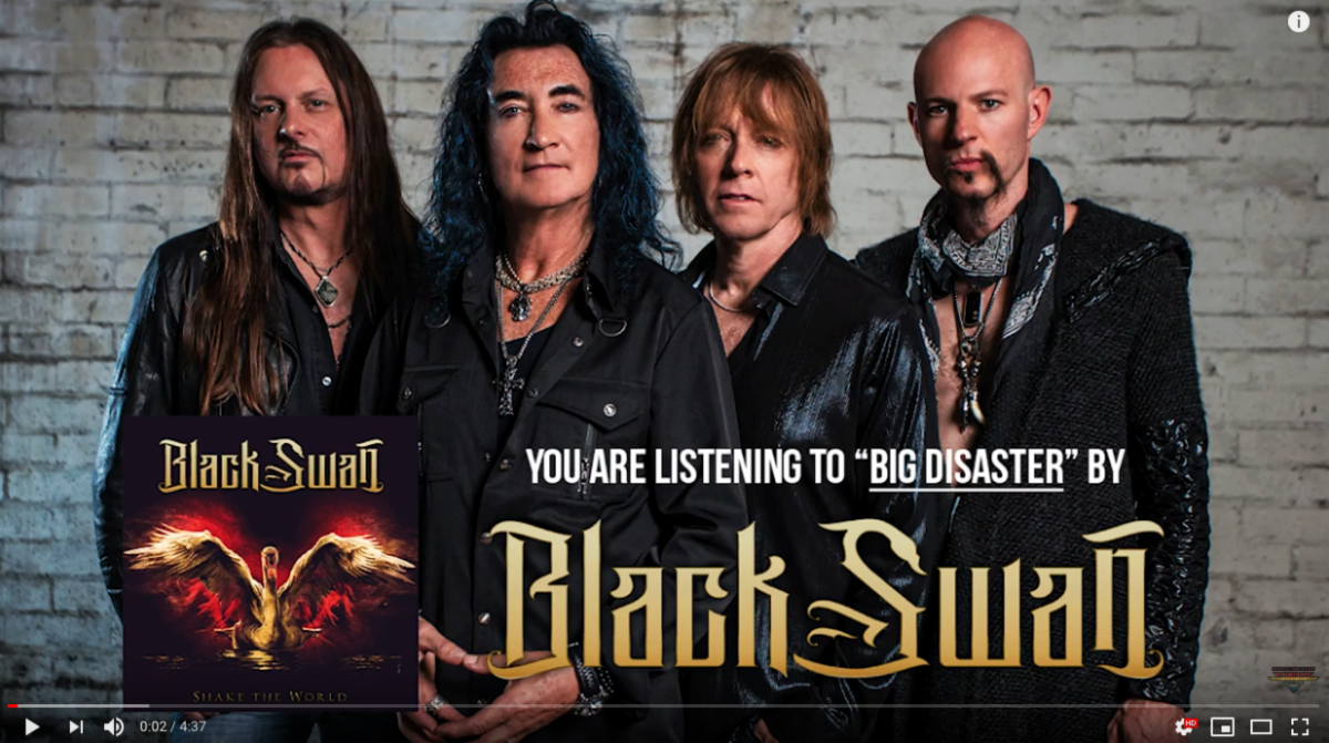 "Black Swan Ftr. Robin McAuley, Reb Beach & Jeff Pilson Release ""Big Disaster"""