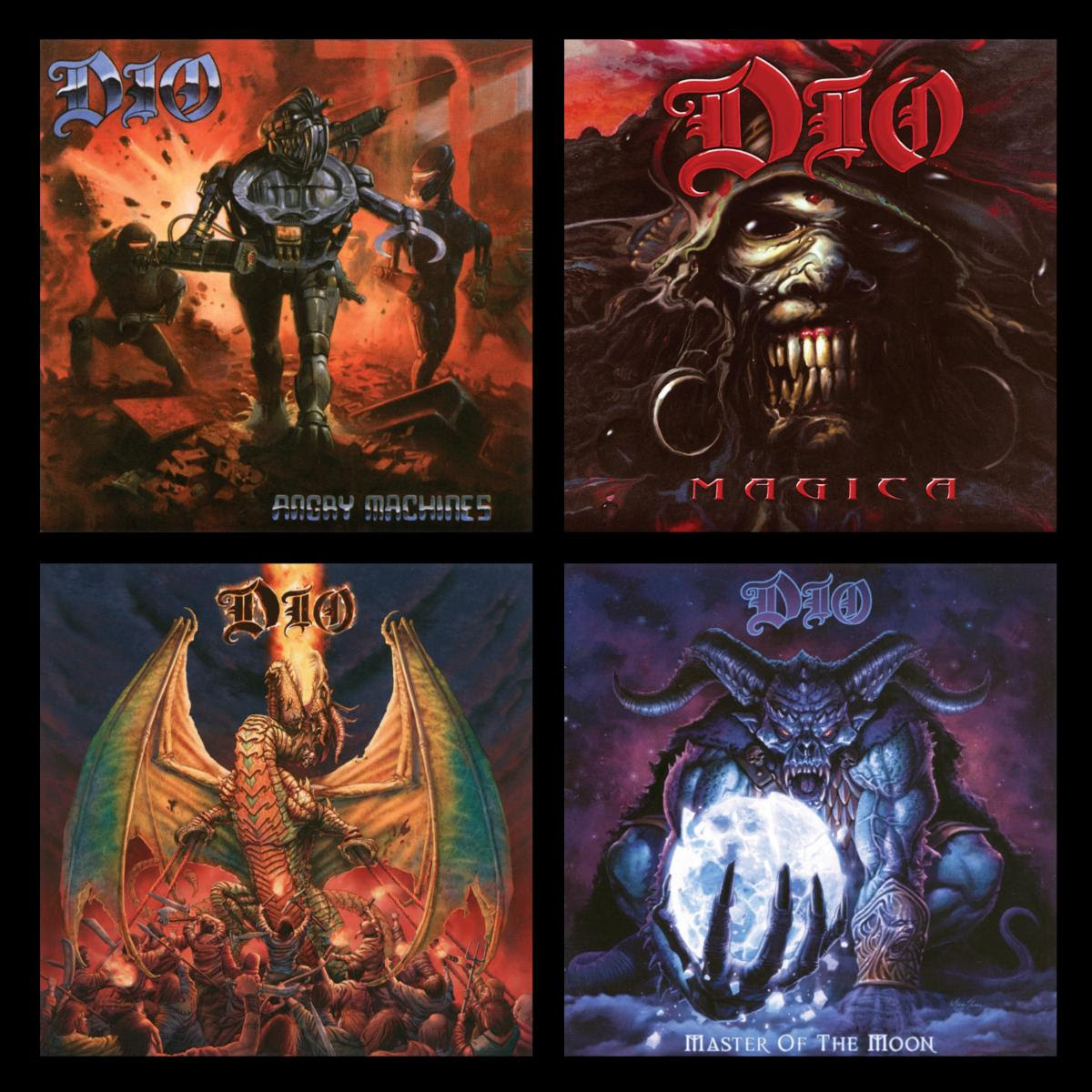 BMG Reveals New Streaming Tracks From Upcoming DIO Reissues