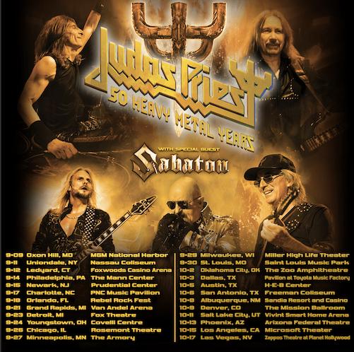 Sabaton Announces U.S. Tour With Judas Priest