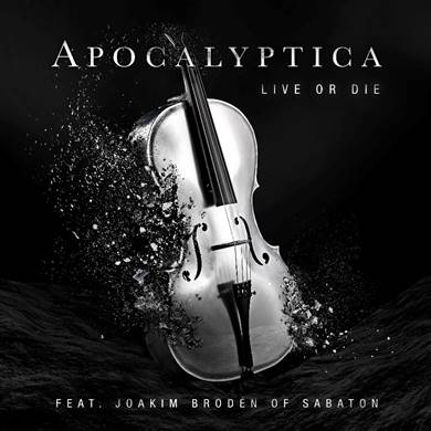 """Apocalyptica Debuts New Song, """"Live Or Die""""  Featuring Sabaton's Joakim Broden"""