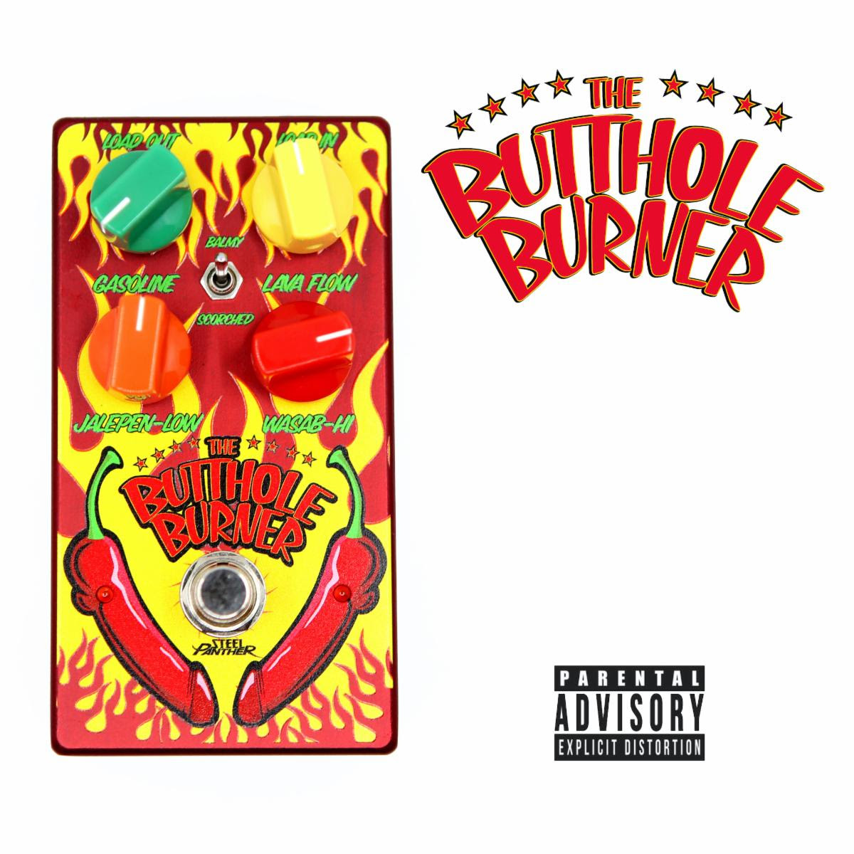 """Steel Panther Unveil Their """"Butthole Burner"""" Guitar Effects Pedal"""