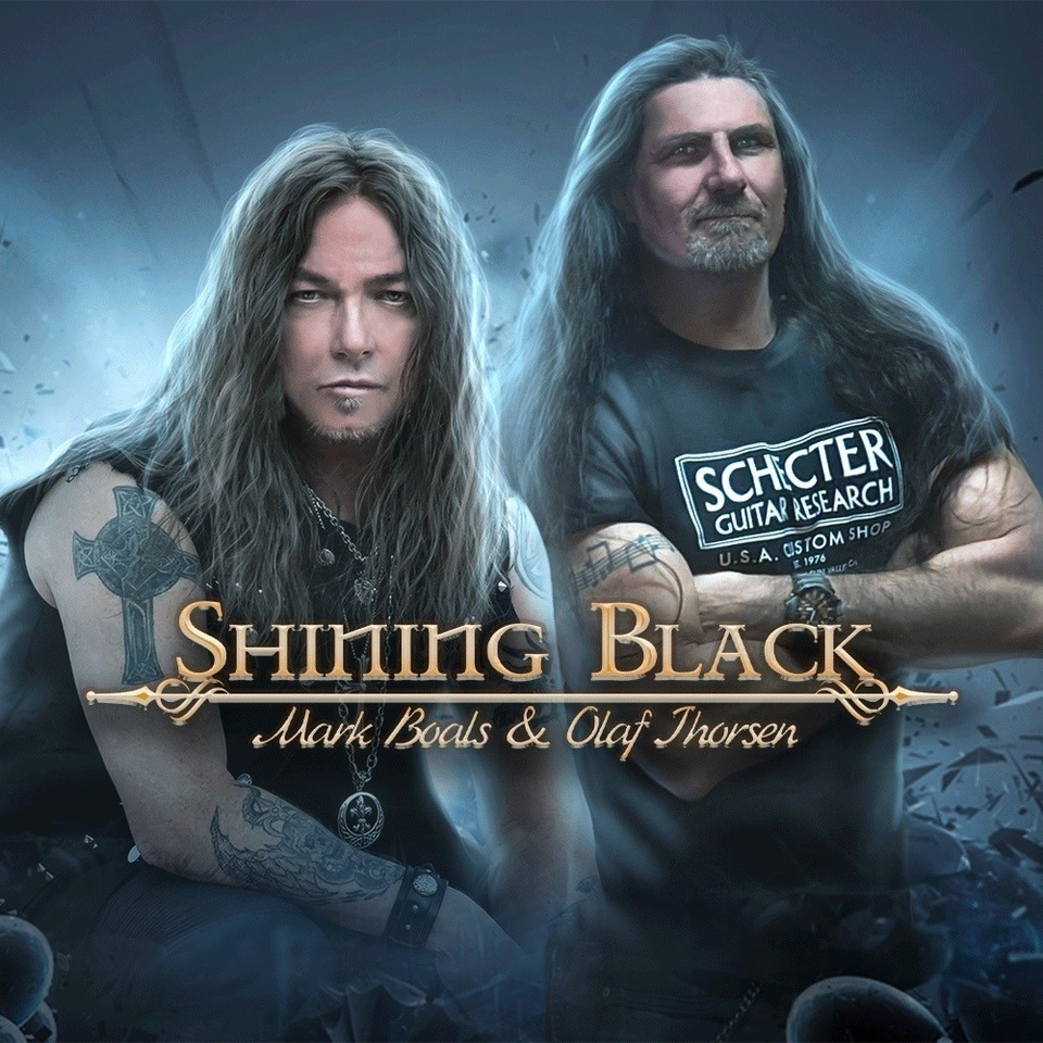 """Shining Black Featuring Vocalist Mark Boals & Guitarist Olaf Thorsen Release New Song """"Just Another Day"""""""