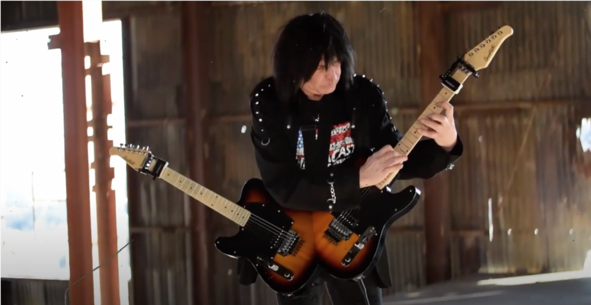 """Michael Angelo Batio Releases New Video For """"More Machine Than Man"""""""